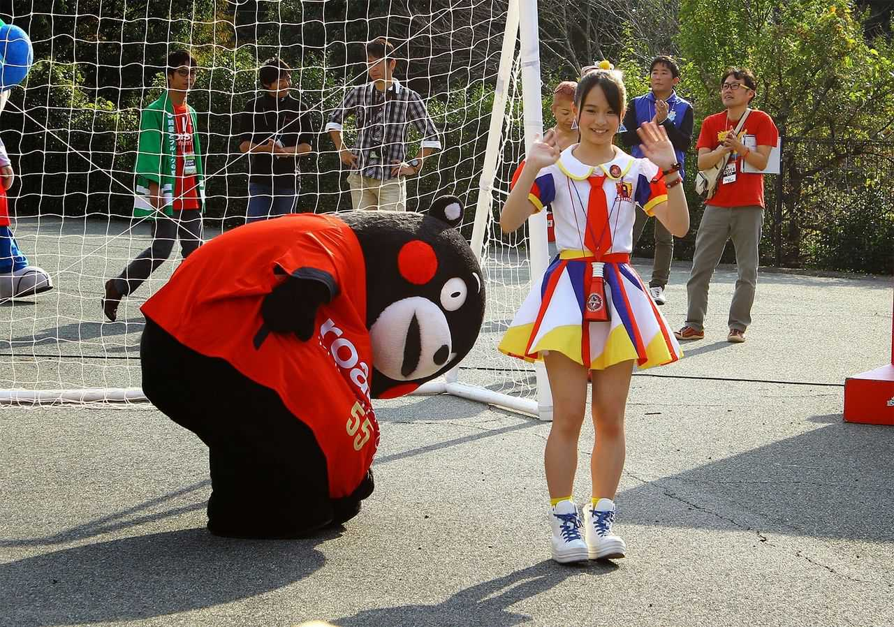 Where are you looking Kumamon?