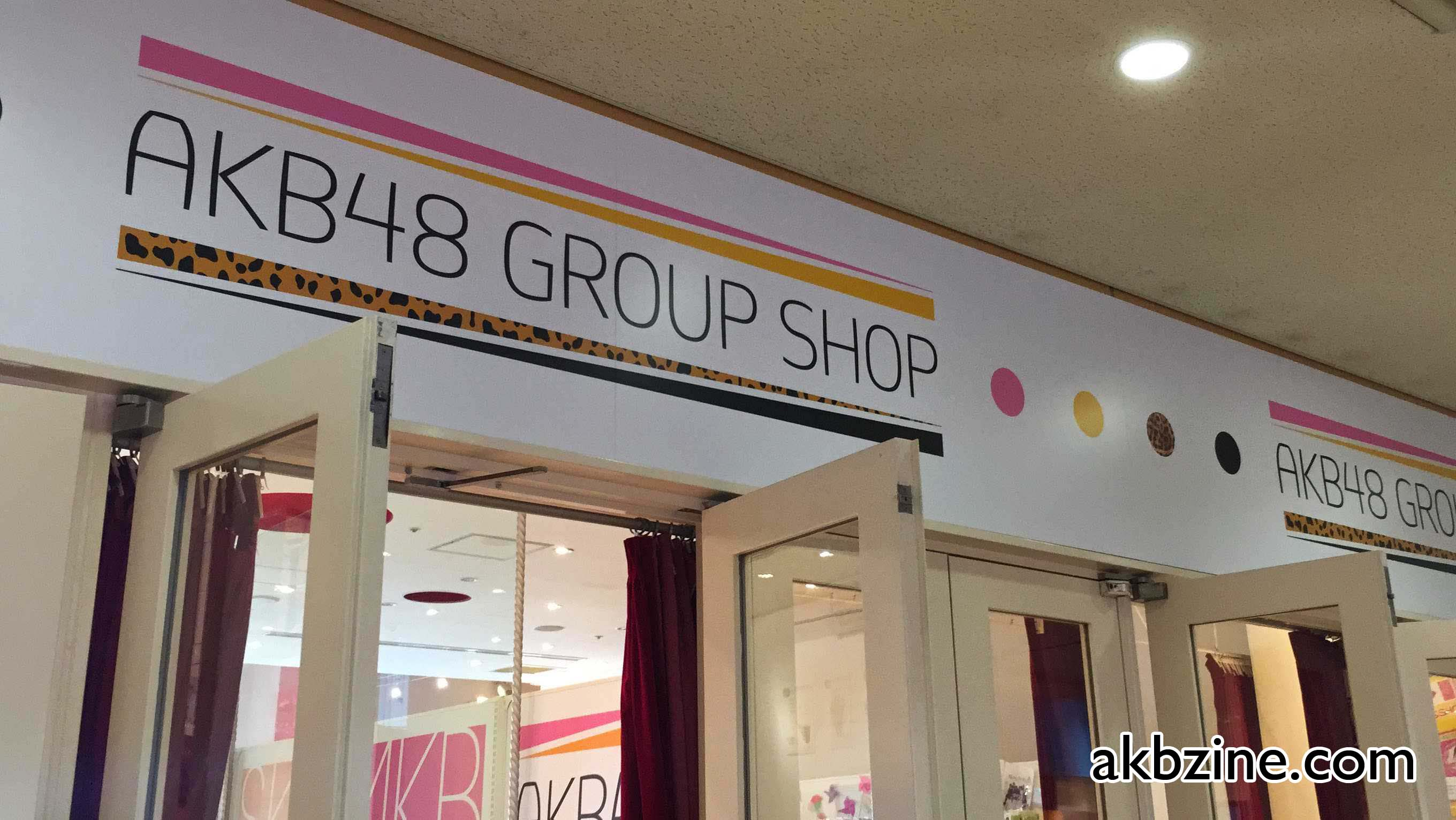 AKB48 Group Shop Odaiba