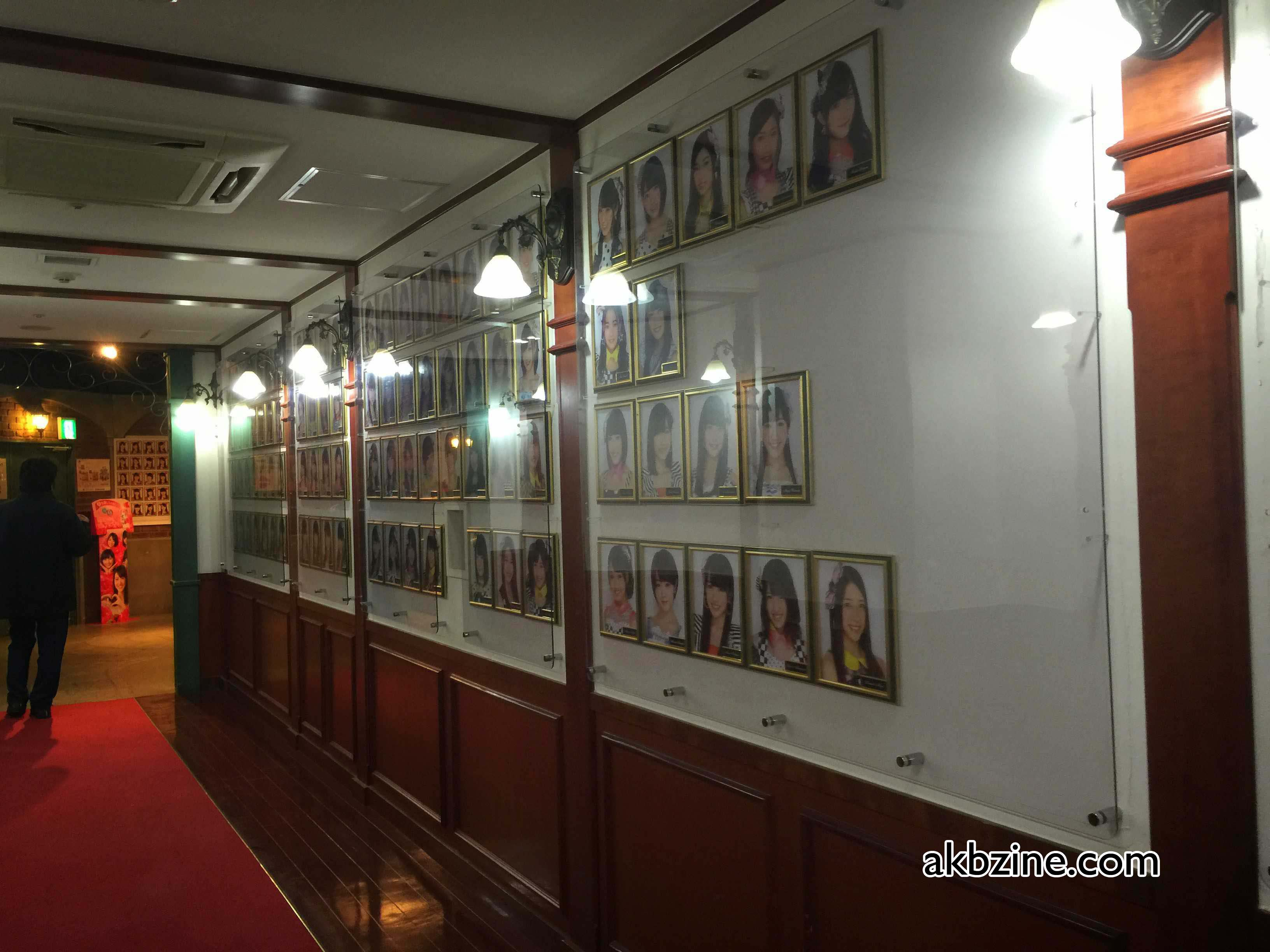 The hallway to the AKB48 Theater in Don Quixote