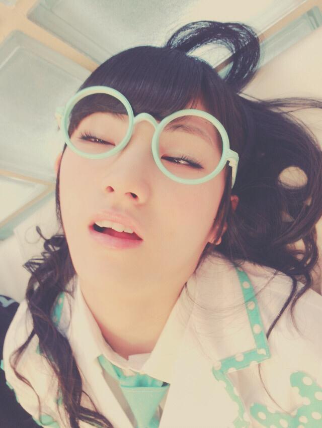 Okada Nana, sleeping face