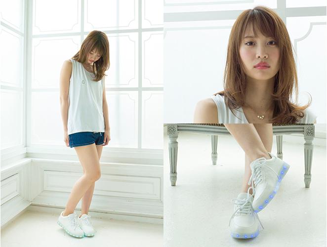 AKB48,Nagao Mariya,永尾まりや,Mariyagi,まりやぎ, LED Sneakers