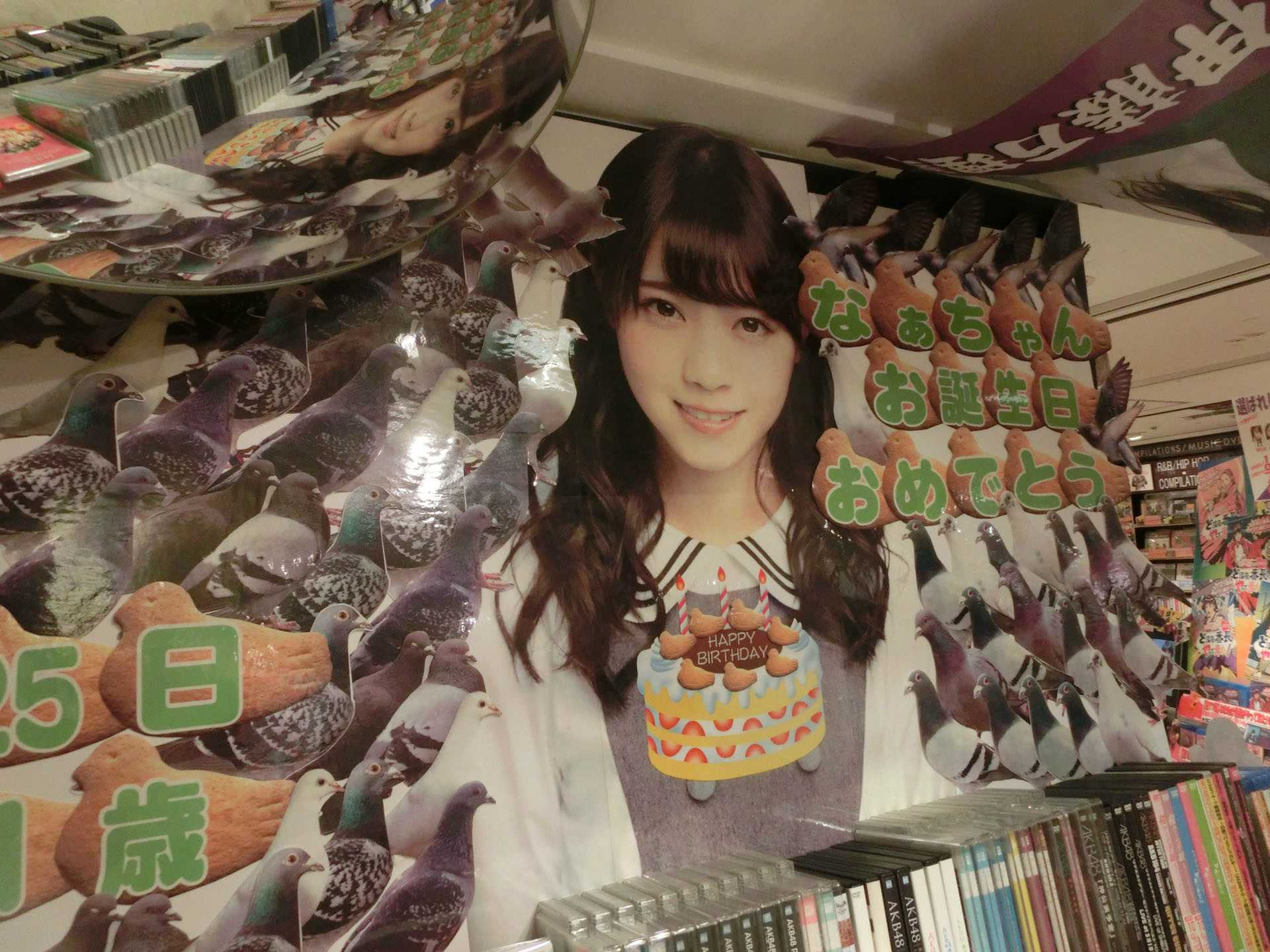 Nishino Nanase Pigeon Shrine