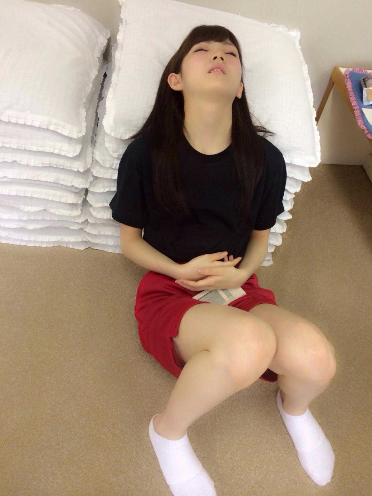 okada nana sleeping