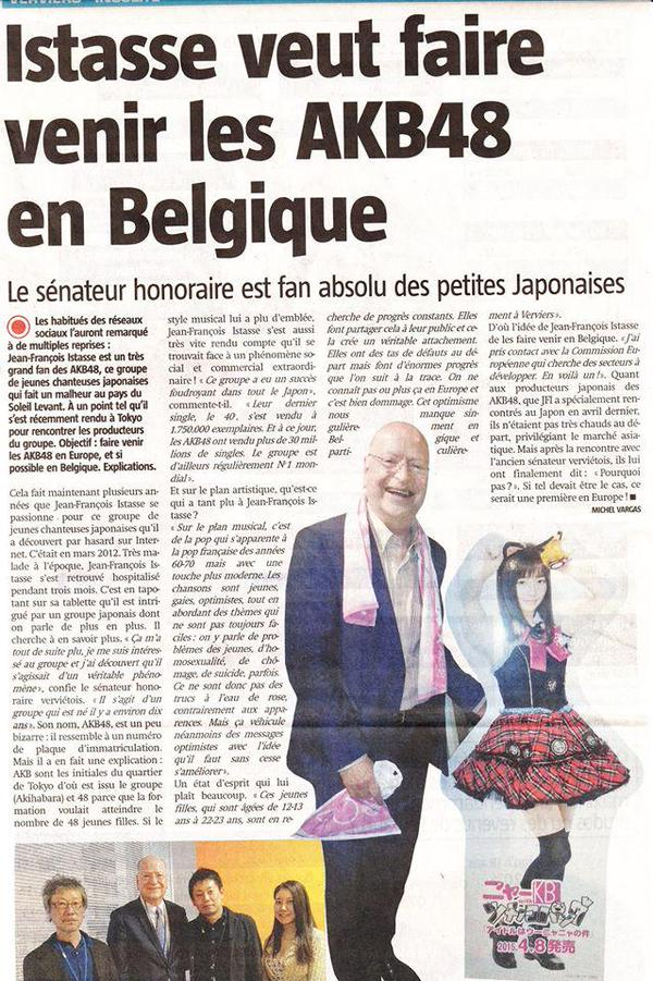 belgium newspaper article