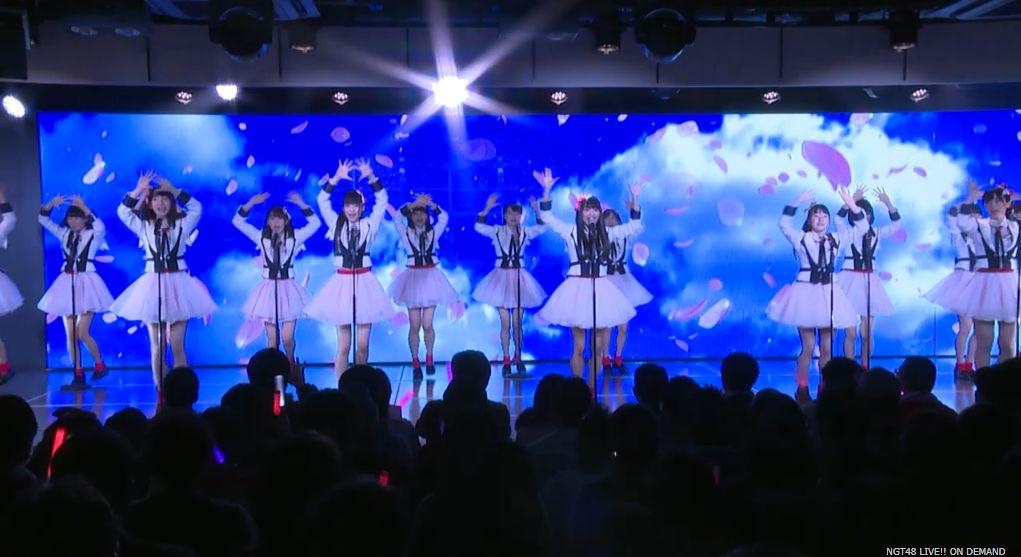 NGT48 Sakura no Hanabiru Tachi 桜の花びらたち