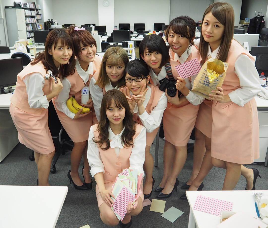 akb48 9th generation office ladies