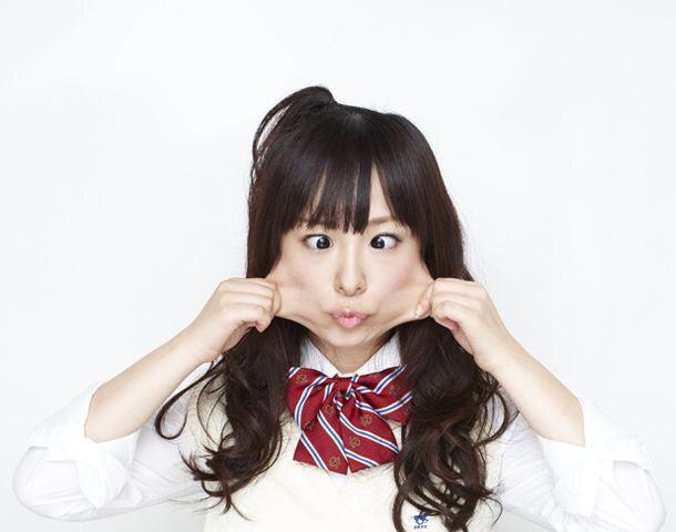 hiramatsu kanako stretched face