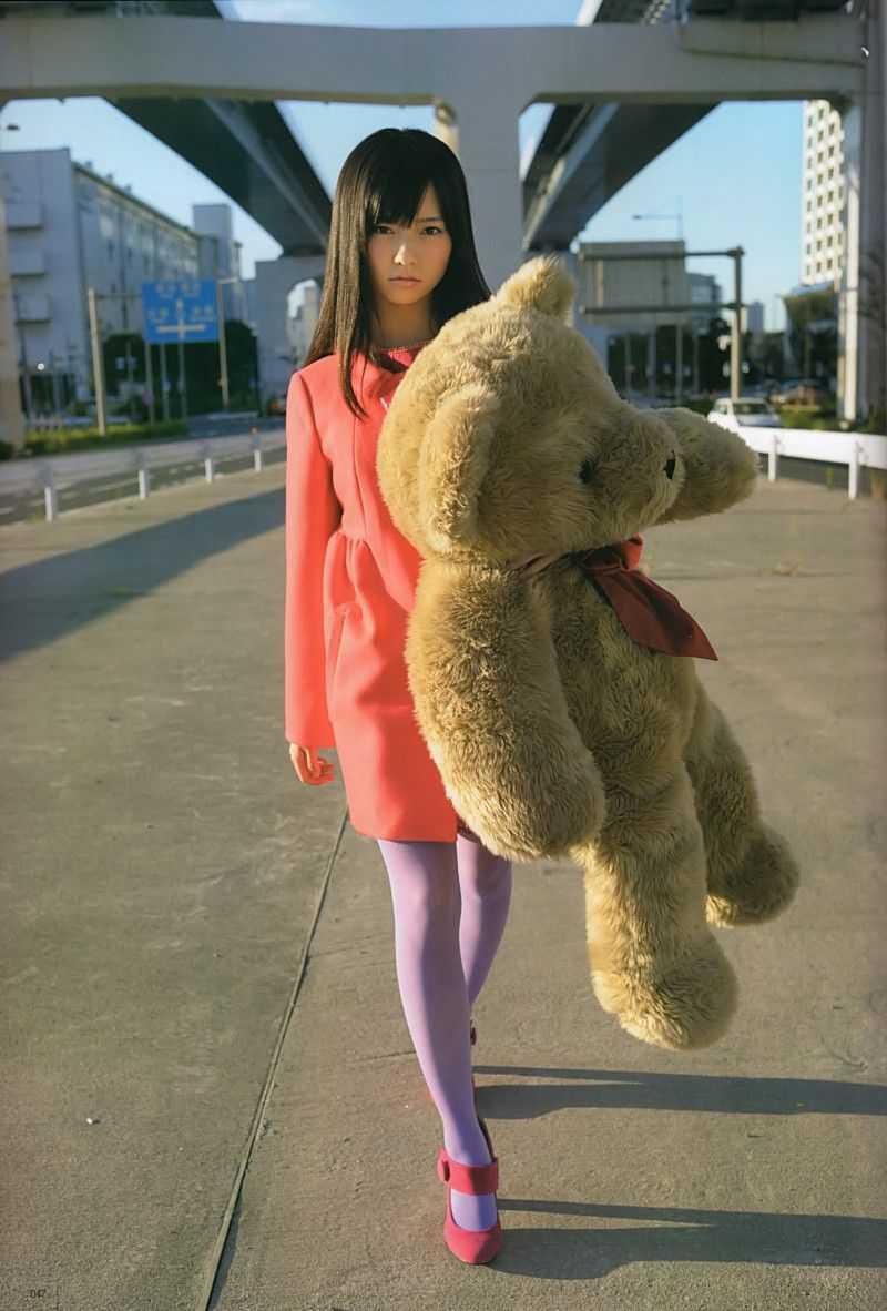 shimazaki haruka teddy bear